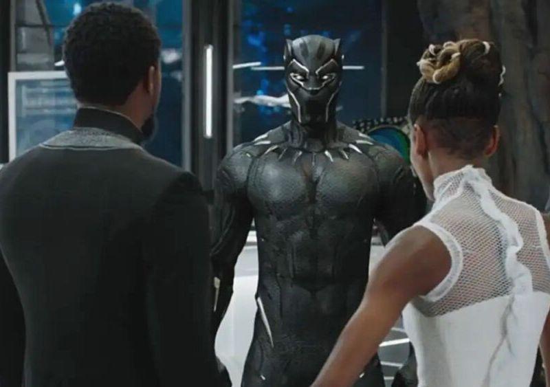 set de grabaciones de Black Panther 2