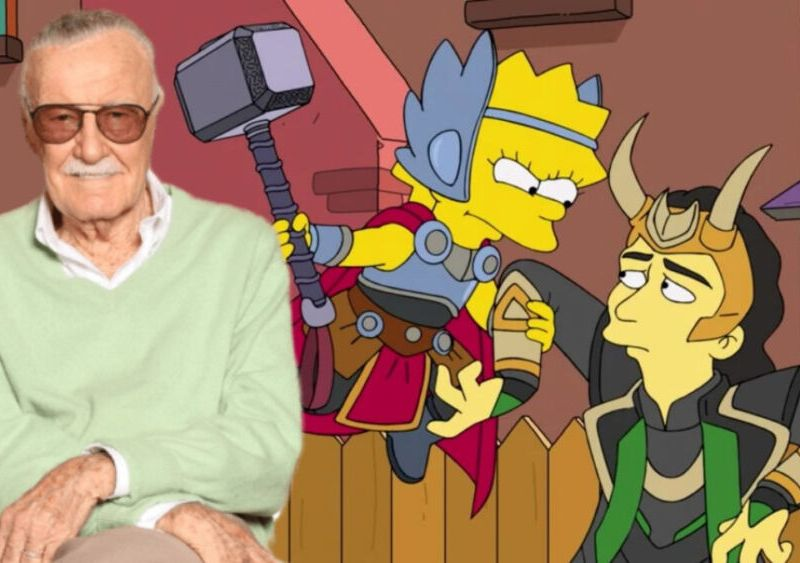 Stan Lee iba a aparecer en The Good The Bart and The Loki