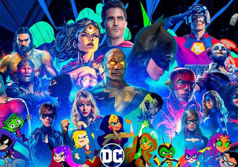 Anfitriones de DC FanDome 2021