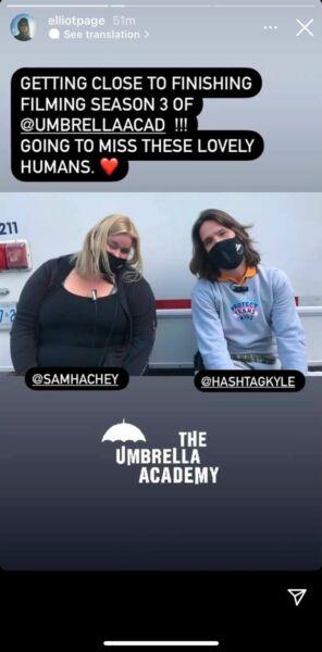 Casi terminan las grabaciones de The Umbrella Academy 3
