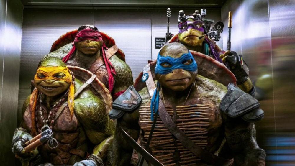 guionistas del live-action de las Tortugas Ninja