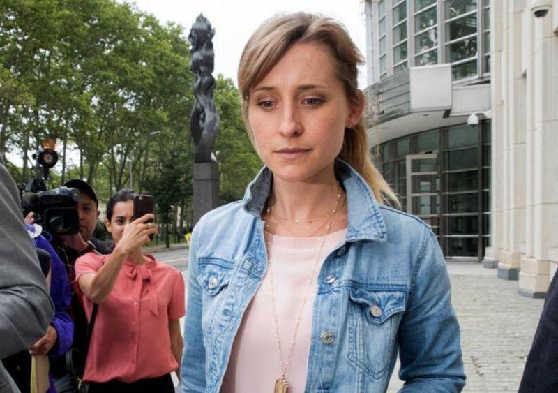 Allison Mack ingresa a la cárcel