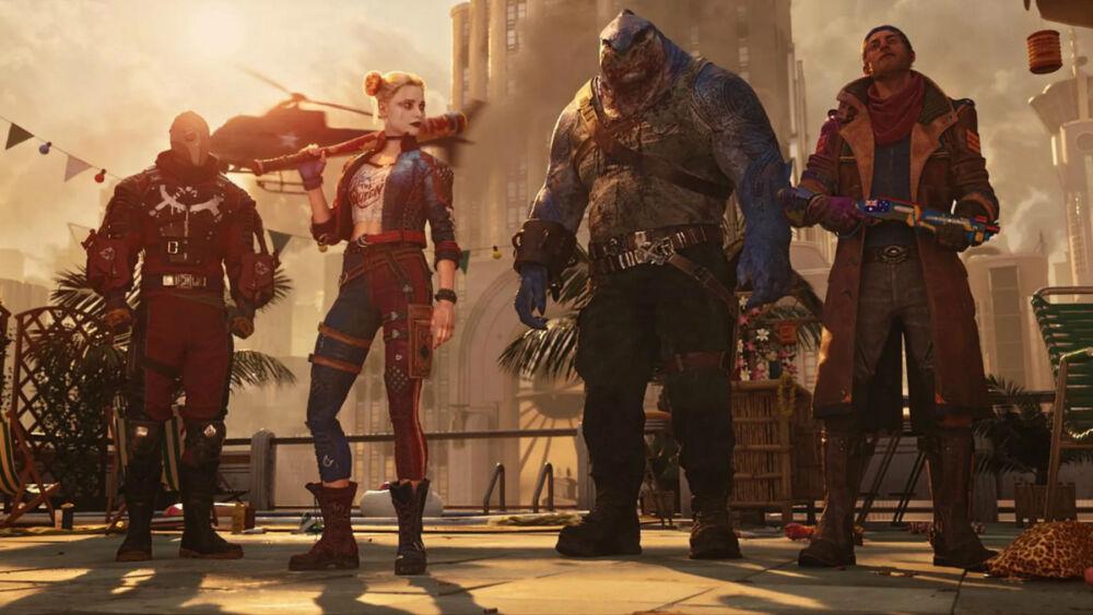 arte oficial de Suicide Squad Kill the Justice League