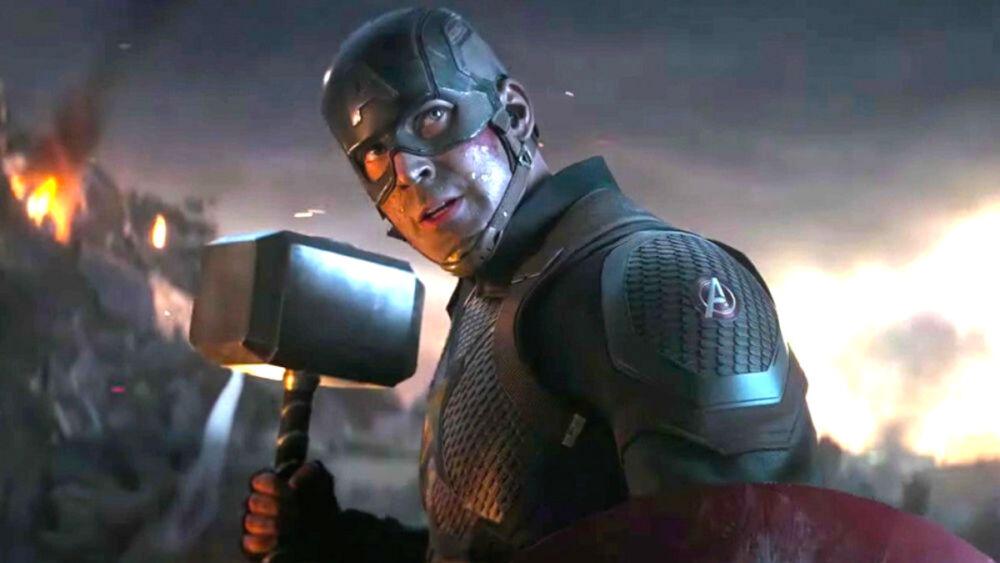 Capitán América levantó el Mjolnir