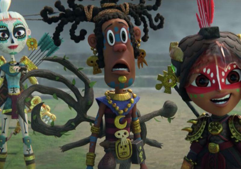 nuevo trailer de Maya y los Tres