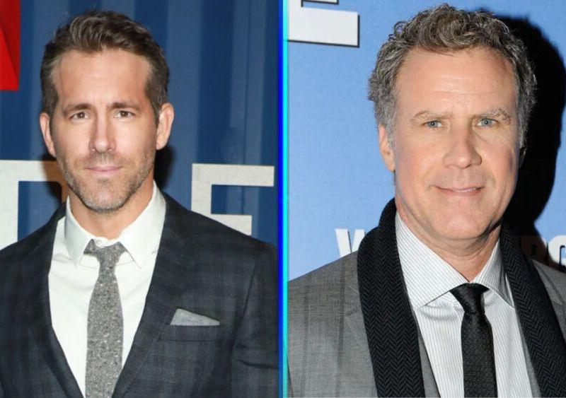 Ryan Reynolds y Will Ferrell cantando