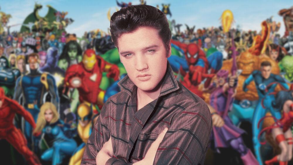 Elvis como parte del universo Marvel