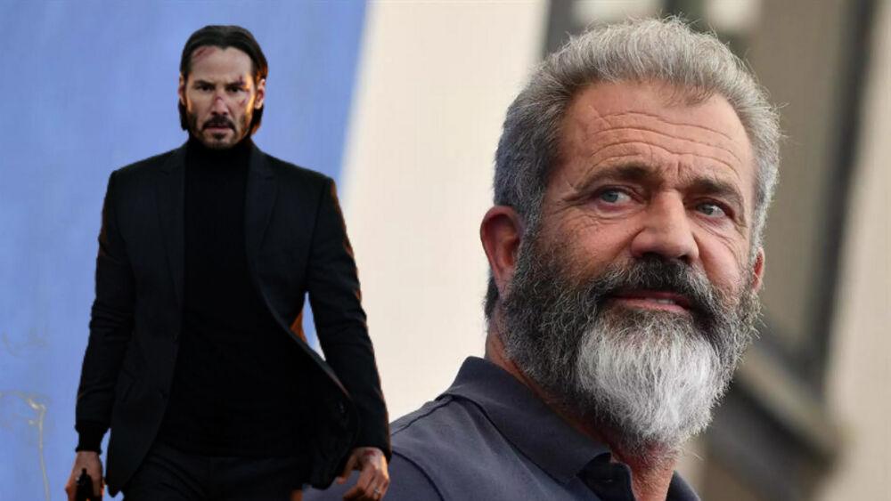 Mel Gibson en The Continental