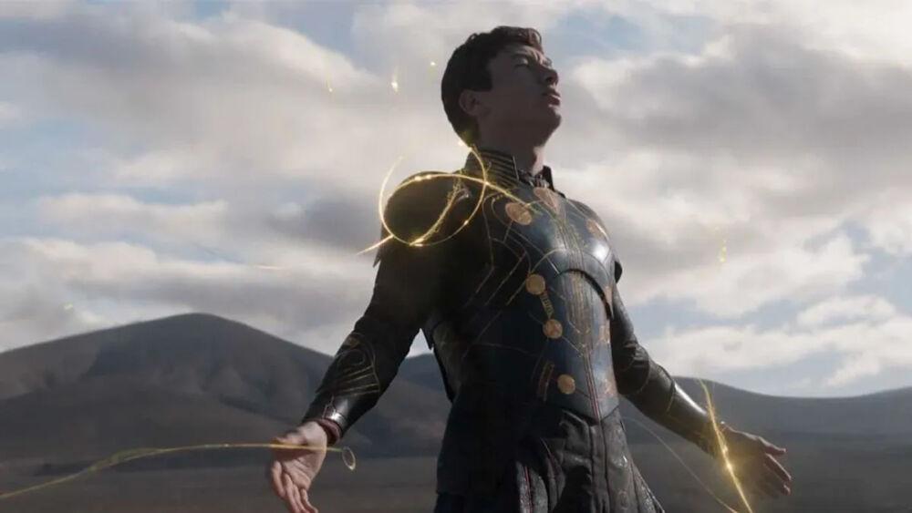 referencia a Superman en Eternals