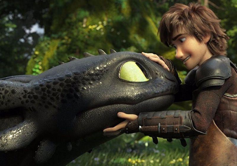 serie de Cómo entrenar a tu dragón