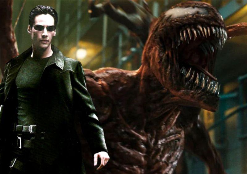 The Matrix Resurrections apareció en Venom 2 (1)