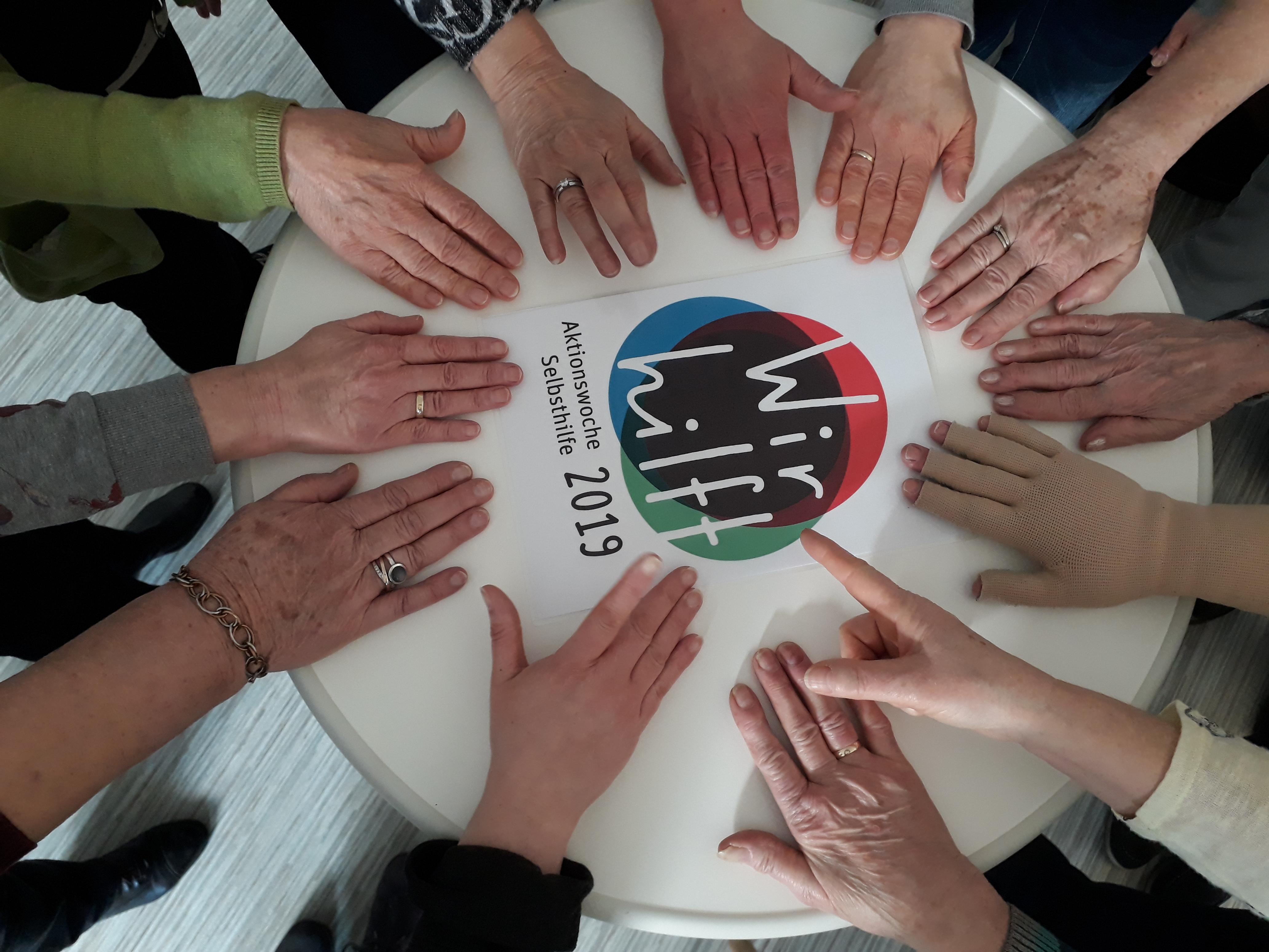 Zusammensein hilft. SHG Krebs behandelter Frauen Bad Kissingen