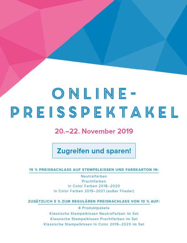 Online-Preisspektakel 2019