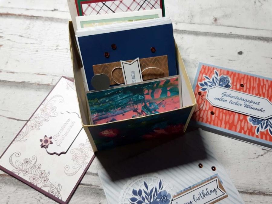 Box für Geburtstage