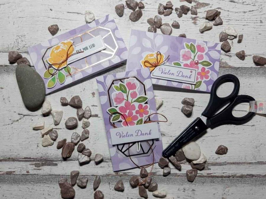 Minikarte in Heideblüte