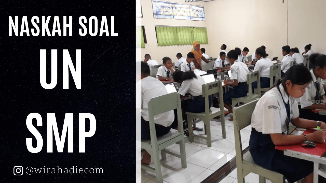 Download Soal Dan Pembahasan Un Untuk Smp 2020 Wirahadie Com