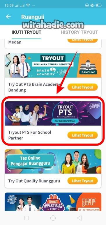 try out online ruangguru