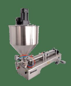 mesin pengisi dengan mixer