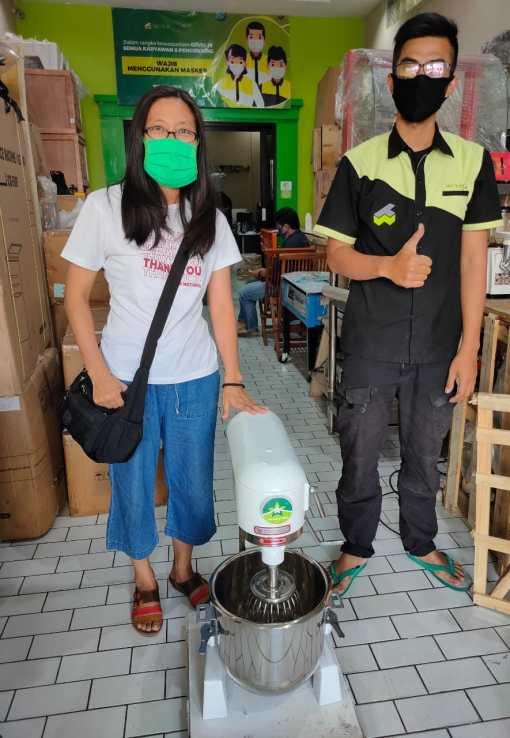 11. Ibu Lea - Bandung - Planetary Mixer B15 Non Cover - 29 Juli 2020