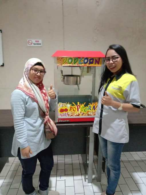 8. Ibu Irma - Bandung - Mesin Popcorn POP-PO2 - 13 September 2019 - DONE