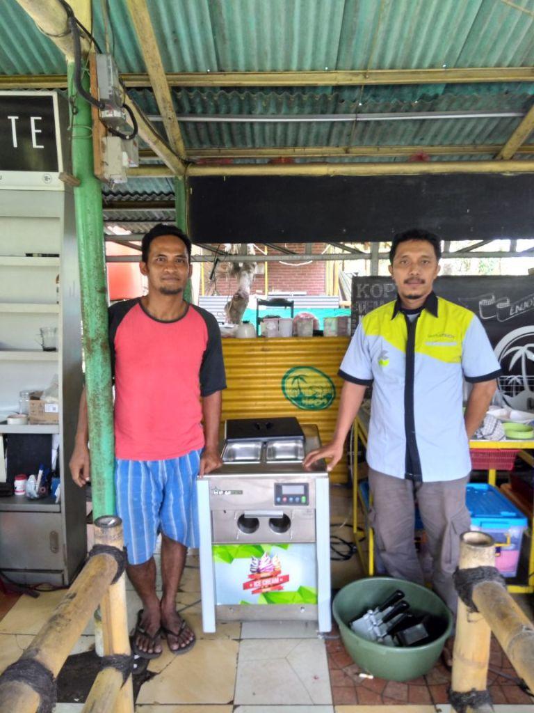 Bpk. Sulistyo, Tengerang, Soft Ice Cream Machine