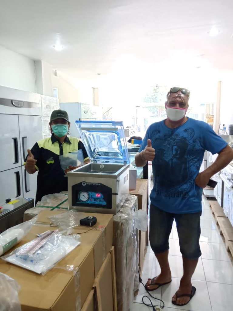1. Mr. Francis - Kerobokan Bali - Vacuum Sealer Machine Tabletop with Memory HVC-260 1T - 22 April 2020