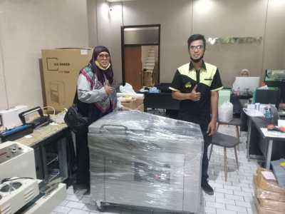 19. PD Griya Rosdan - Bandung - Vacuum Sealer Double Chamber DZ-410 2SA 1 Phase - 12 Agustus 2020