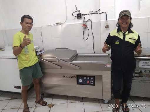 2. Pak Adil Darmayasa - Denpasar - Vacuum Sealer Double Chamber DZ-610 - 29 Desember 2020
