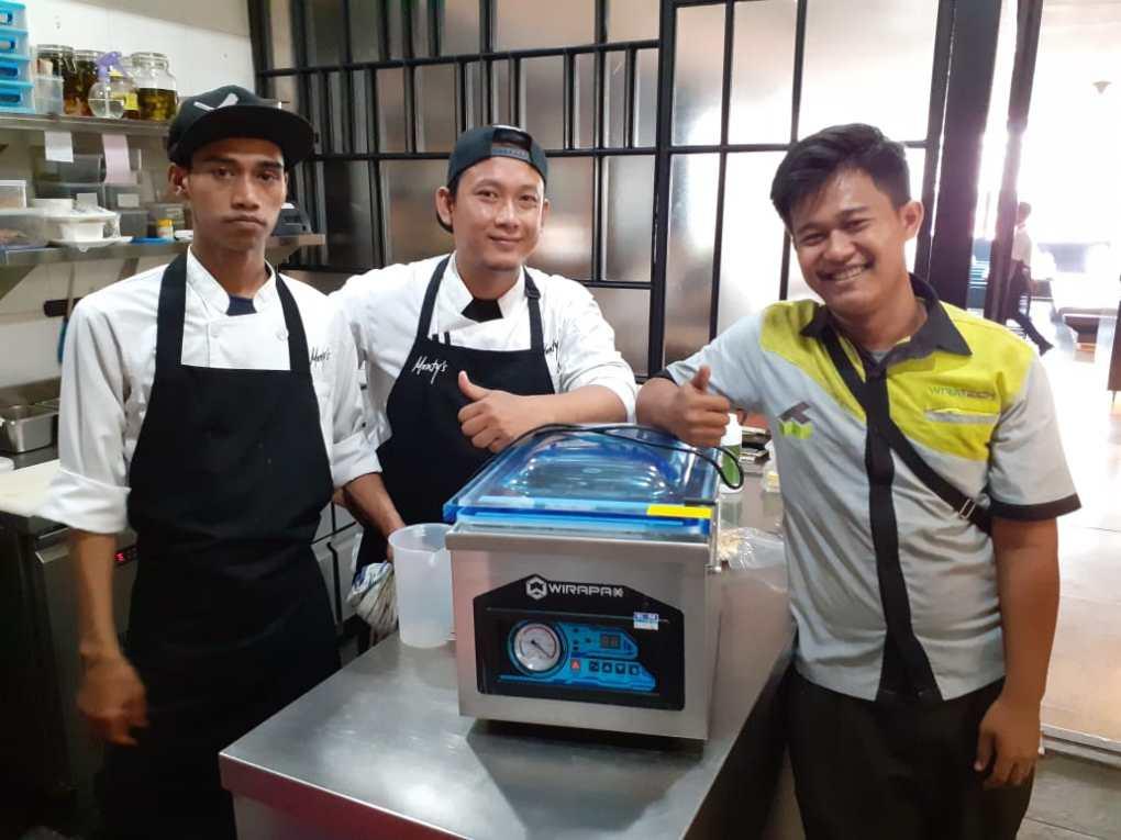 5. Mounty's Restaurant - Jl Senopati - Vacuum Machine HVC-260T - 11 Oktober 2019 - DONE