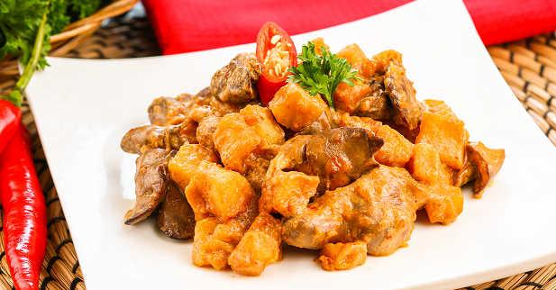 resep cara membuat sambal goreng ati