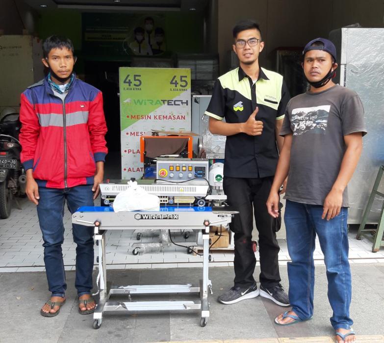 1. Bapak Iceng Sakip - Garut - Continuous Sealer with Hot Ink Coding FRM-980III - 1 Desember 2020