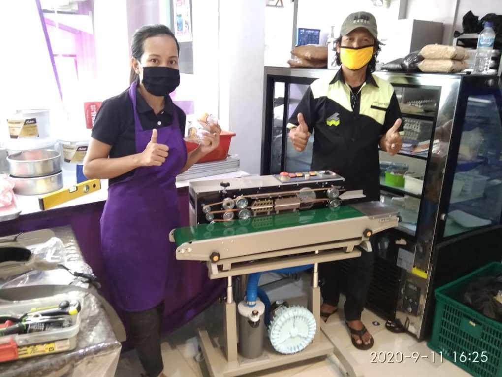 4. Violet Bakery - Denpasar - Continuous Sealer SF-150G - 11 September 2020