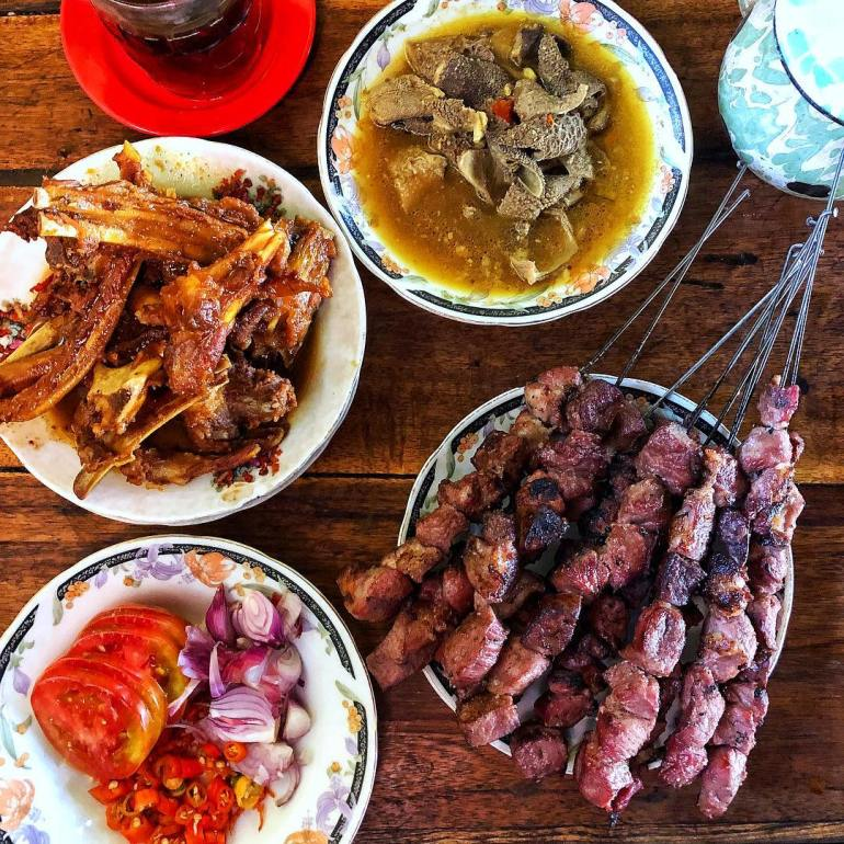 Makanan Khas Yogyakarta Sate Klatak