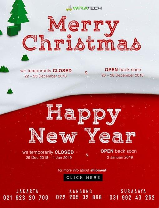 informasi natal dan tahun baru mobile