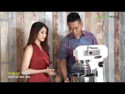 Preview Mixer Planetary Series - Mixer Roti & Kue