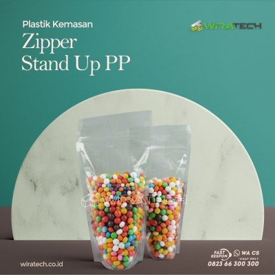 Zipper Stand Up PP Cover
