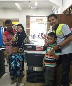 Bapak Hariono - Sampang Madura - Mesin Es Batu ICB-120P dan Hand Sealer FS-400 - 22 Januari 2020 - DONE