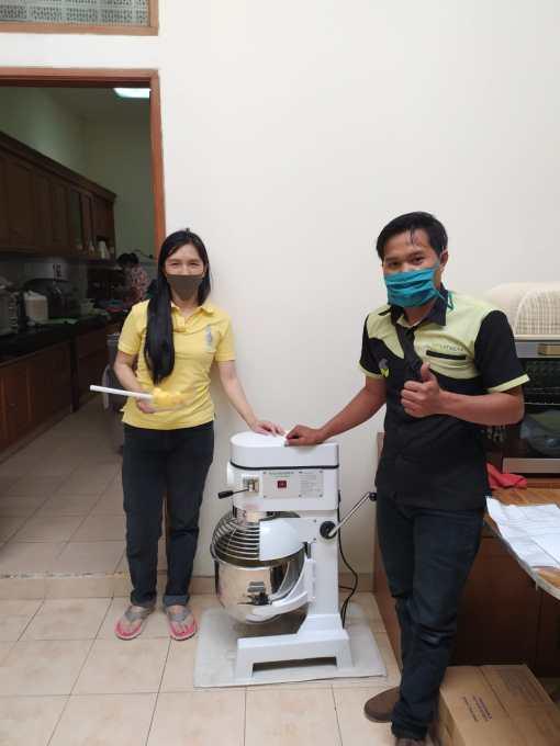 13. Ibu Sie Yustina Theresia - Pasteur Bandung - Planetary Mixer B-20F - 16 Oktober 2020