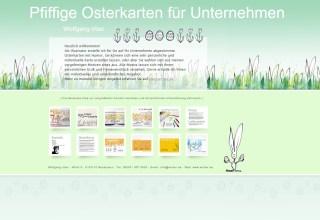 Osterkarten-Website: der zweite Versuch 1