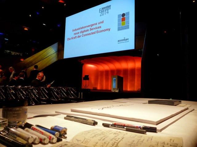 Graphic Recording auf dem Innovationsforum 2014 in München 1