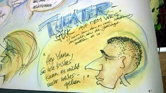 Graphic Recording für die Joblinge in Stuttgart: ein beeindruckender Abend mit tollen Jugendlichen 4