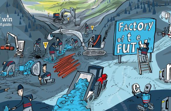 leitbild ausschnitt factory of the future