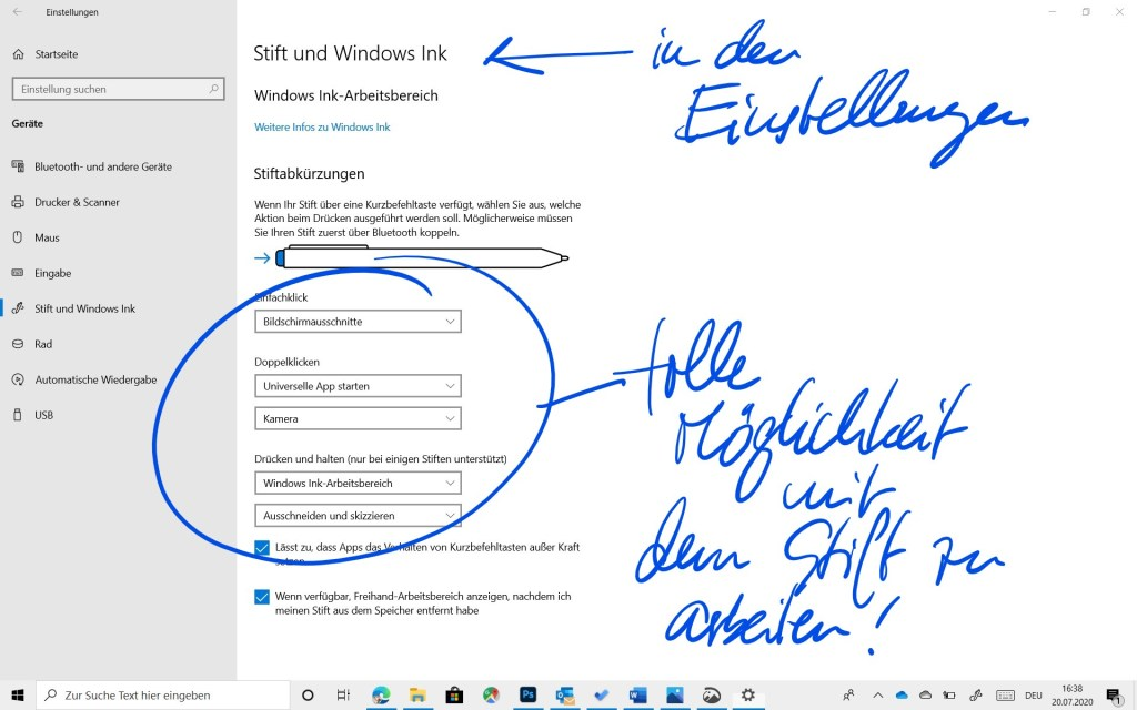 Ein Plädoyer für mehr Stift in der digitalen Welt - die Verwendung des Surface Pen im Büroalltag 7