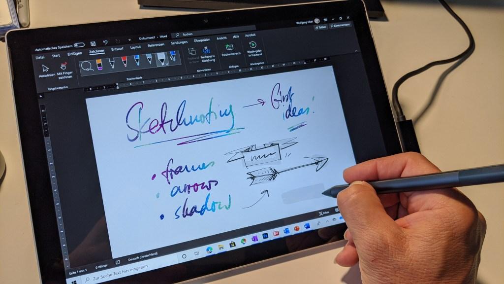 Erfahrungen als Illustrator im Zeichnen mit dem Microsoft Surface Pro 3