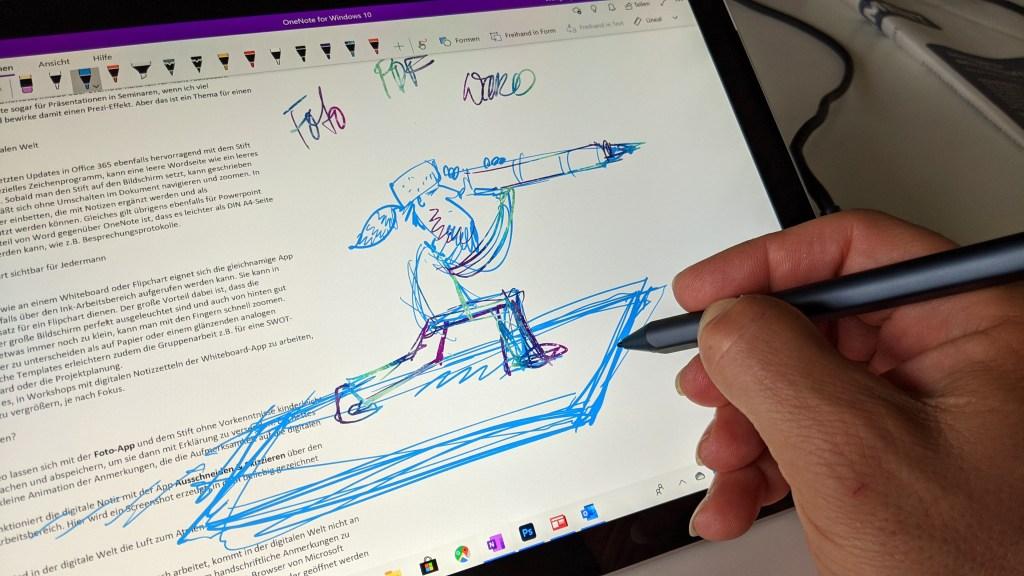 Ein Plädoyer für mehr Stift in der digitalen Welt - die Verwendung des Surface Pen im Büroalltag 9