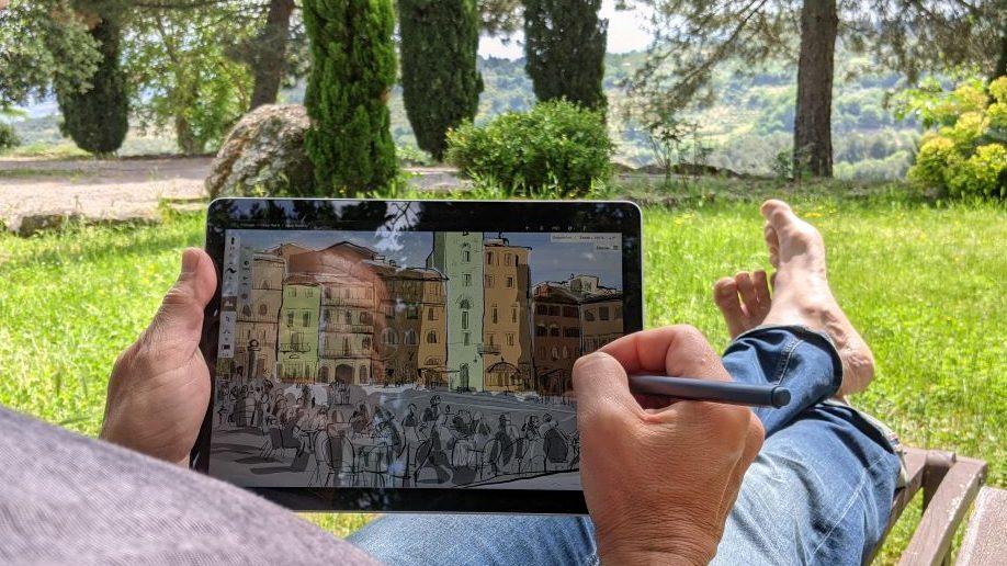 Spezialkurs: Digitales Zeichnen auf dem Microsoft Surface oder ähnlichen Windows-Geräten 1