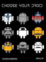 fun, funny, t-shirt, divertido, gracioso, camiseta, droid, androide, r2d2, bender, c3po, terminator, optimus prime, eve, wall-e, marvin, mashup