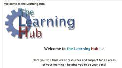 learning hub moodle screenshot