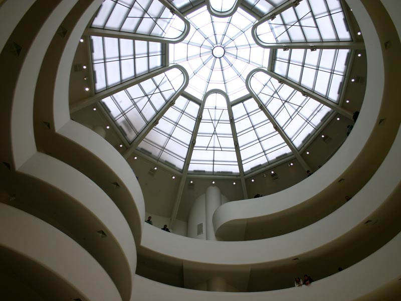 Solomon R Guggenheim Museum Wired New York