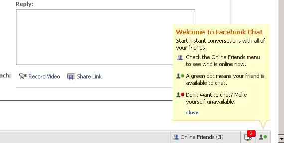 Facebook Chat annoyance